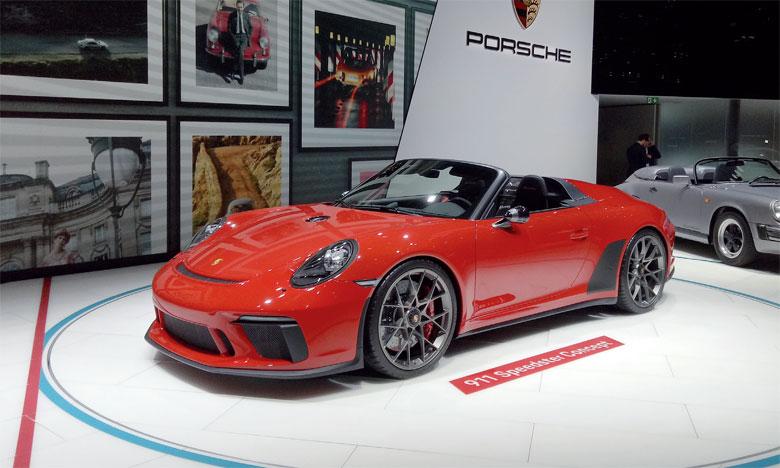 Le 911 Speedster fait sensation