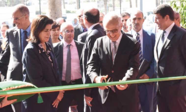 La 3e étape du forum régional de la convergence s'est tenue à l'occasion de l'inauguration officielle de la 2e édition d'Al Omrane Expo. Ph. Saouri