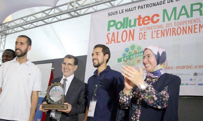 Les prix décernés lors du Salon Pollutec sont dotés de 150.000 DH.