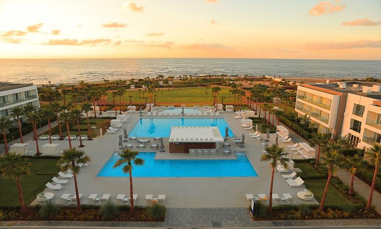 Vichy Célestins Spa Hôtel Casablanca offre une vue imprenable grâce à sa disposition complètement tourné vers la mer. Ph. DR