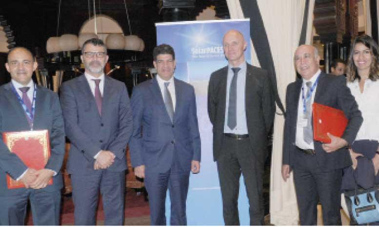 Siemens et Masen accélèrent  leur partenariat