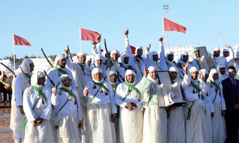 Les différentes troupes de cavaliers ont présenté durant cinq jours de compétitions la «hadda» et la «tbourida».                                                                        Ph. Saouri