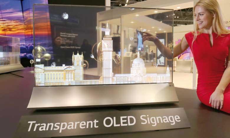 La dernière génération d'OLED dévoilée au GITEX de Dubaï