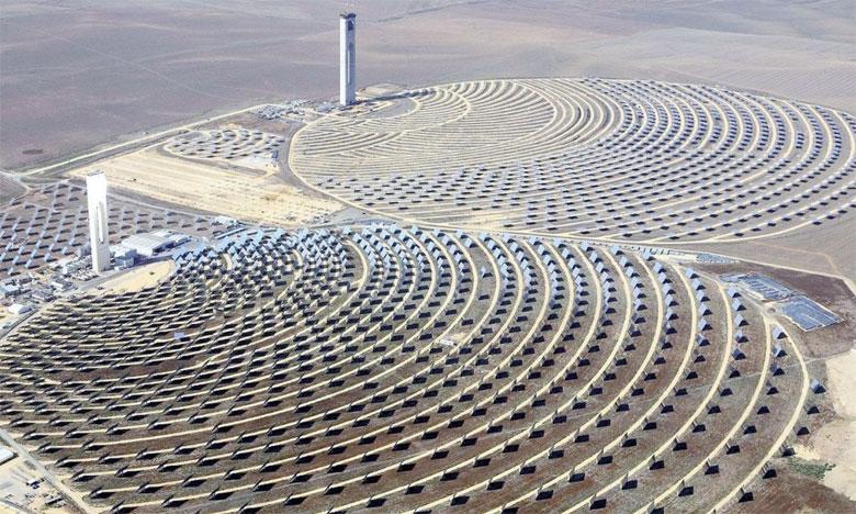 Le Maroc ambitionne de produire 42% de son énergie à partir de sources renouvelables d'ici 2020 et 52% à l'horizon2030.          Ph. DR