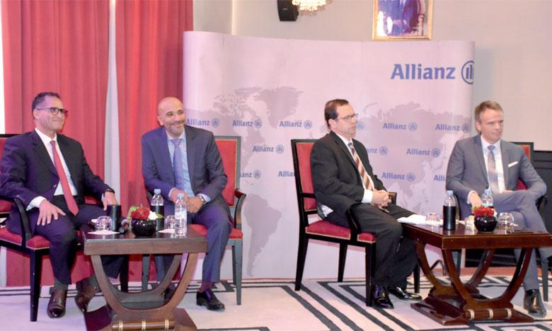 Pour le top management du groupe, «Allianz Chifaa est là pour remédier au problème de la couverture maladie et permettre à tous d'être couverts contre les aléas de la vie». Ph. Saddik