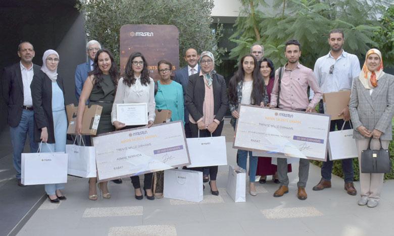 Pour l'édition2018, 9 gagnants ont été sélectionnés par le jury de Masen Talents Awards 2018.