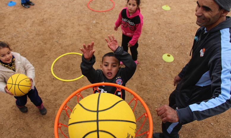La caravane «Basket F'Douar» repart pour un tour
