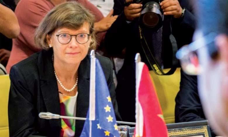 Claudia Wiedey, ambassadeur, chef de la Délégation de l'Union européenne au Maroc.