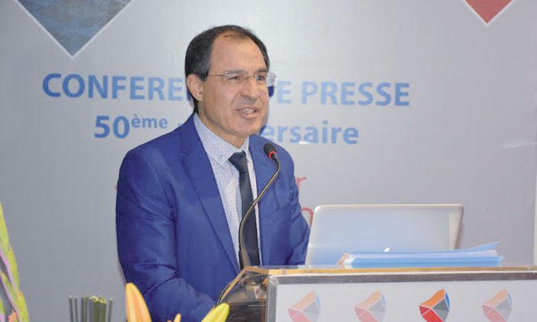 Selon son DG Fouad Benzakour, Super Cérame veut porter sa capacité de production  de 120.000 à 200.000 m²/jour à horizon 2030. Ph.Seddik
