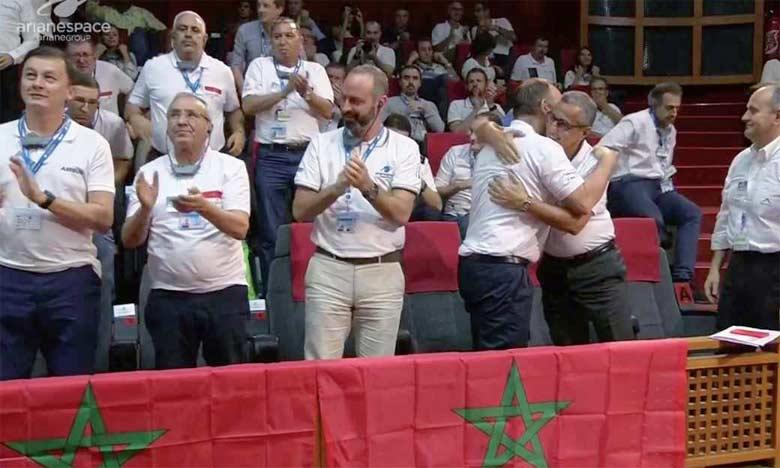 Le Satellite Mohammed VI-B sera ainsi mis en orbite pour aller rejoindre  le satellite Mohammed VI-A, lancé en novembre dernier.