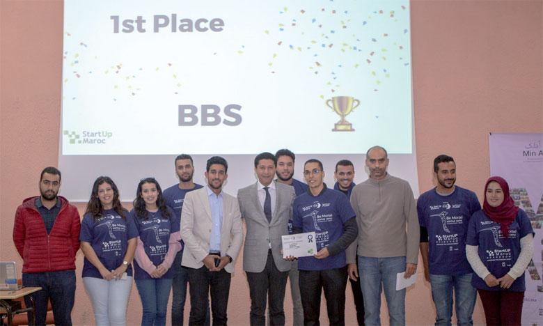 Le premier prix de cette compétition a été décroché par le projet BBS qui est une startup spécialisée dans la biotechnologie alimentaire, spécifiquement le traitement et la conservation d'olives.