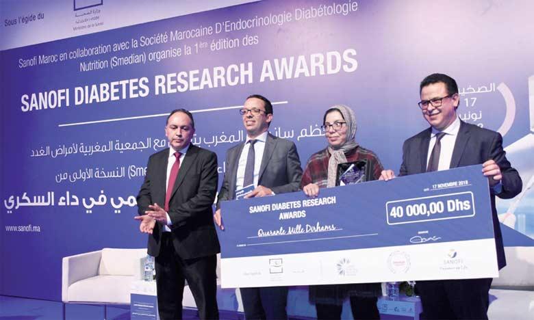 Sanofi et la Smedian récompensent  la recherche sur le diabète