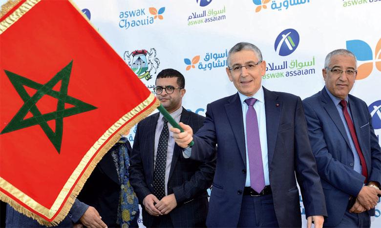 Le lancement des travaux d'Aswak Chaouia, le 7 novembre à Settat.