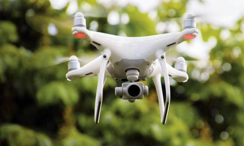 La FAO indique que ses partenaires utilisent des drones pour détecter les zones où les systèmes agricoles sont particulièrement exposés aux catastrophes naturelles.  Ph. FAO
