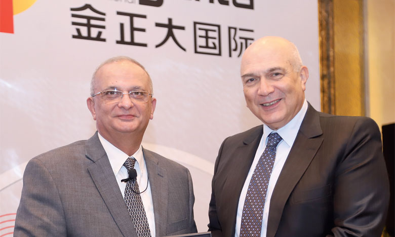 Le prix a été remis au PDG du groupe, Mostafa Terrab, la semaine dernière en marge du Forum stratégique de l'IFA à Pékin