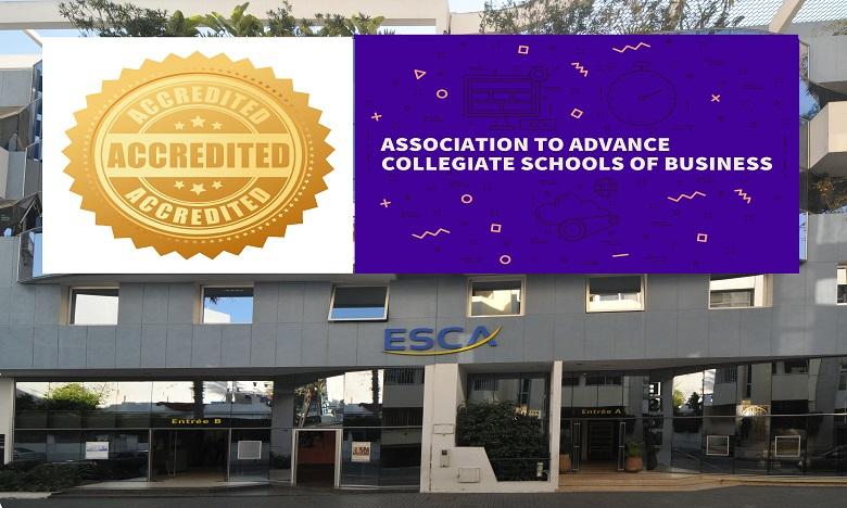 ESCA accréditée AACSB, une première au Maroc et en Afrique francophone