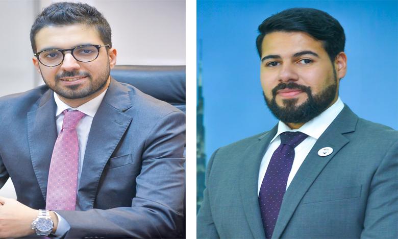 Rashed Al Fajeer (à gauche) est nommé directeur régional pour les opérations de  la compagnie au Maroc, et Jassim Al Mulla, directeur des opérations SkyCargo.