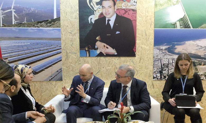 Patrick V. Verkoojjen, le directeur général du Centre mondial d'expertise sur l'adaptation  au changement climatique, a demandé à Nezha El Ouafi, secrétaire d'État au Développement durable, que le Maroc rejoigne le secrétariat général de ce centre.
