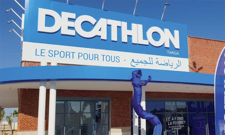 Le Decathlon Marrakech Targa, plus grand magasin en Afrique, a nécessité près de 60 millions de dirhams d'investissements.