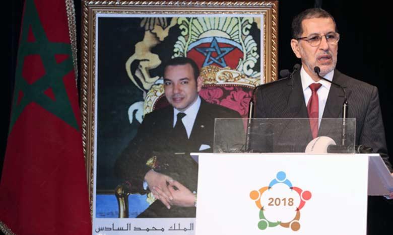 Le ministre du Tourisme, du transport aérien, de l'artisanat et de l'économie sociale, Mohamed Sajid.