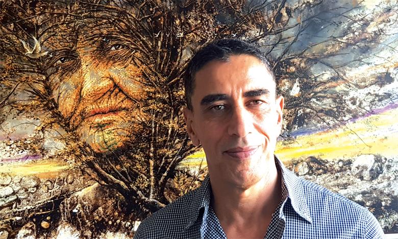 Abdel-Ilah Chahidi fait partie d'une génération de peintres férus d'images figurées et de renouveau.