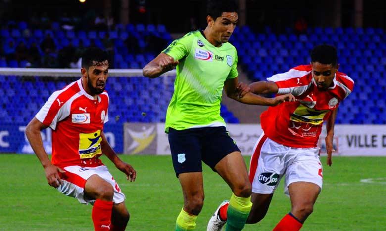 Le Difaâ El Jadida remonte provisoirement à la troisième place