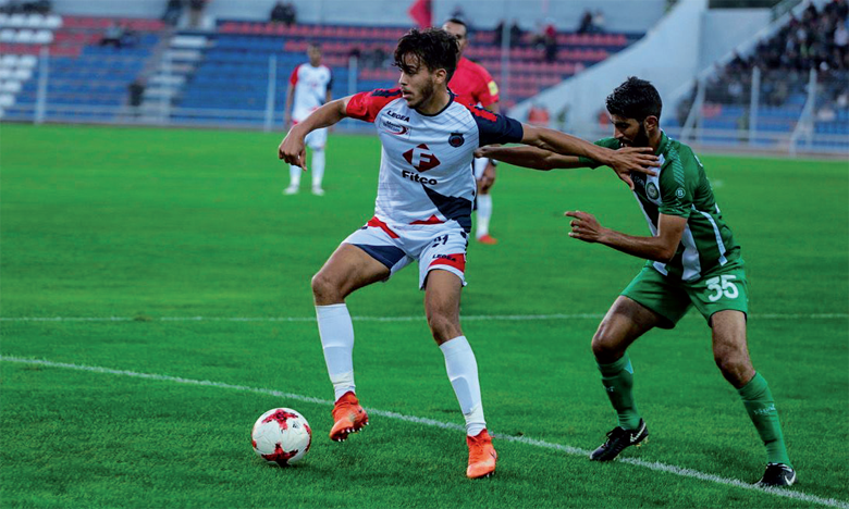 Le match nul de Safi face à Khouribga permet au club de garder sa première avec deux points d'avance sur le Wydad Casablanca.