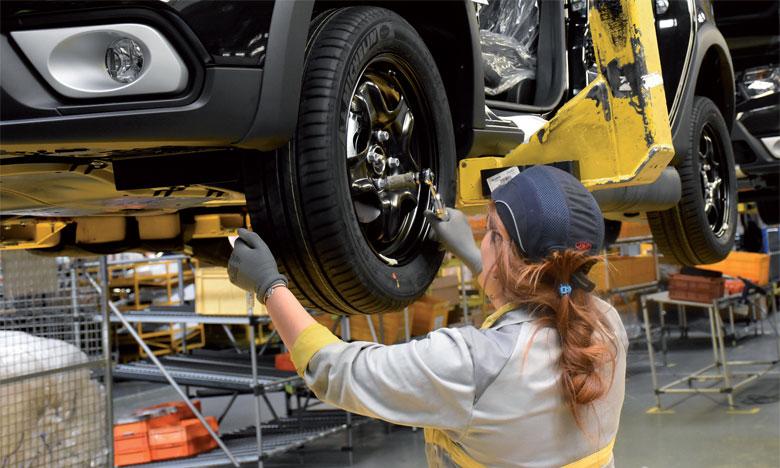 En 2017, Somara a produit 75.808 véhicules et en a exporté 66% en Europe, en Égypte et dans les pays du Golfe.  Ph. Saouri