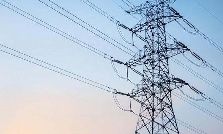 À fin octobre, les ventes de l'énergie de très haute, haute et moyenne  tension ont chuté de 6,2%.