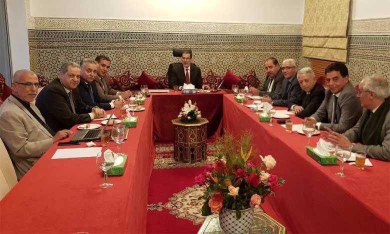 La réunion des partis de la majorité a été également consacrée au projet de loi de Finances 2019.