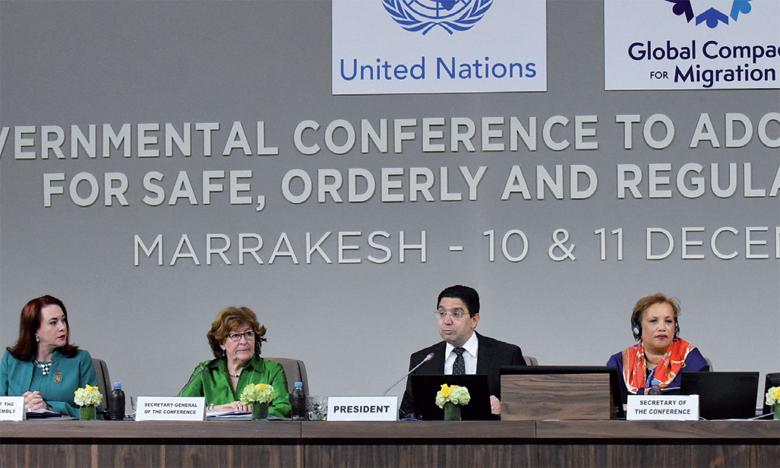 Nasser Bourita: «Nous avons franchi un pas décisif vers l'amélioration de la vie de 250 millions de migrants dans le monde»