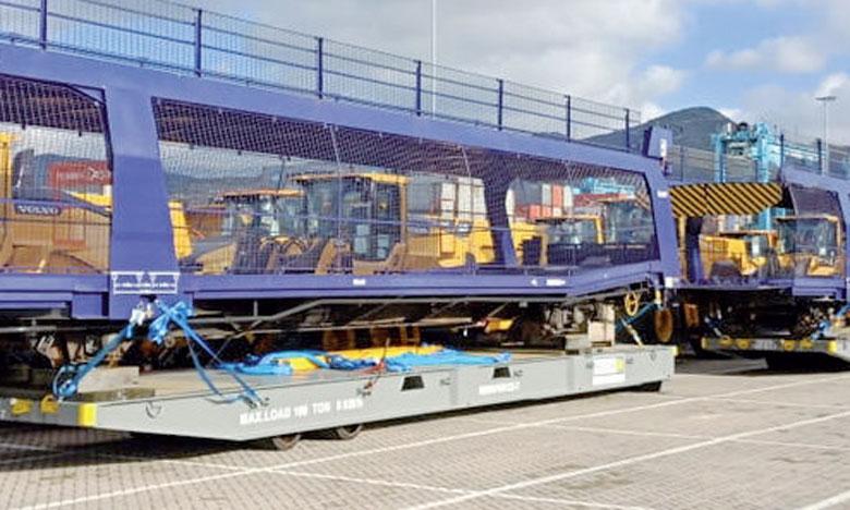Les deux premiers wagons ont été livrés en décembre dernier.