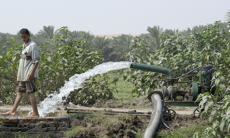 Selon la Banque mondiale, la disponibilité totale des ressources hydriques issues des précipitations et des cours d'eau diminuera de plus de 10% dans toute l'Afrique d'ici à 2020. Ph. DR