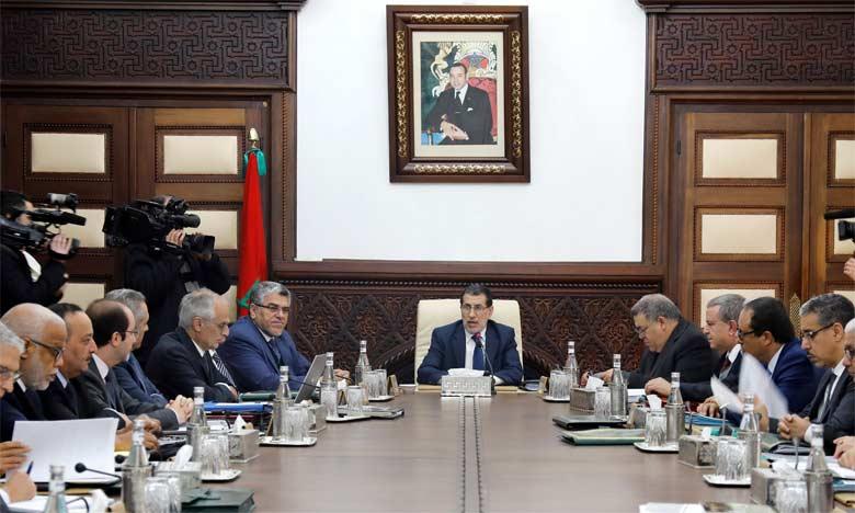 Réunion hebdomadaire sous la présidence du Chef du gouvernement, Saâd Eddine El Othmani.