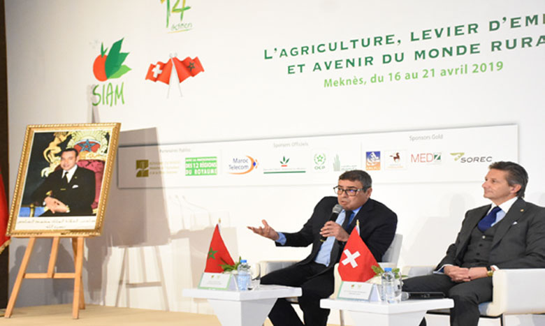 Prévu du 16 au 21 avril à Meknès, le SIAM est structuré autour des différents maillons  de la chaîne de valeur du secteur, sur une superficie globale de 180.000m². Ph. Saouri