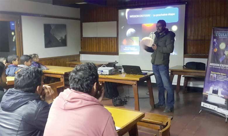 L'événement les «100 heures de l'astronomie» à Marrakech a connu un franc succès avec la participation  de nombreuses personnes.