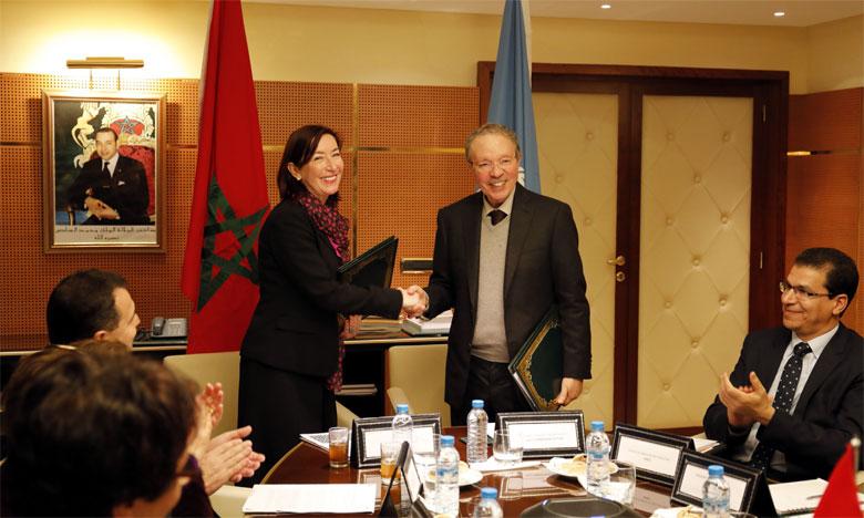 L'accord vise à élaborer un cadre de référence pour le suivi et le reporting des ODD au Maroc et contribuer  à l'éclairage des décideurs politiques et de l'opinion publique sur les réalisations nationales dans ce domaine.