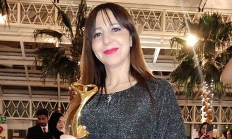 Naïma Acherkouk récompensée  à la Rencontre des arts plastiques  à Londres