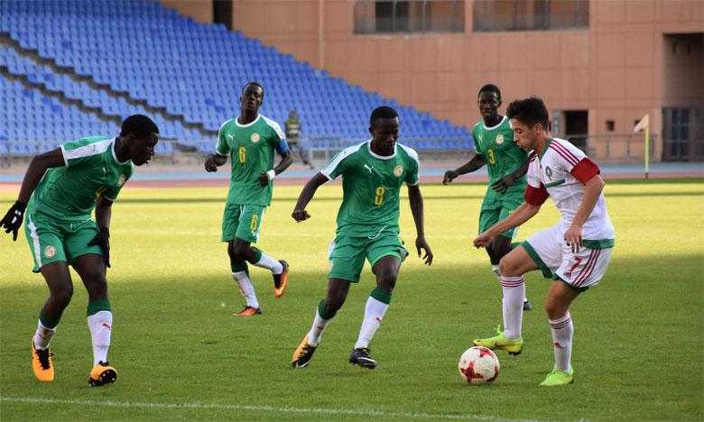 Les Lionceaux ont perdu un seul match en 2019, ici face au Sénégal en finale du tournoi UNAF U17 à Marrakech en décembre.