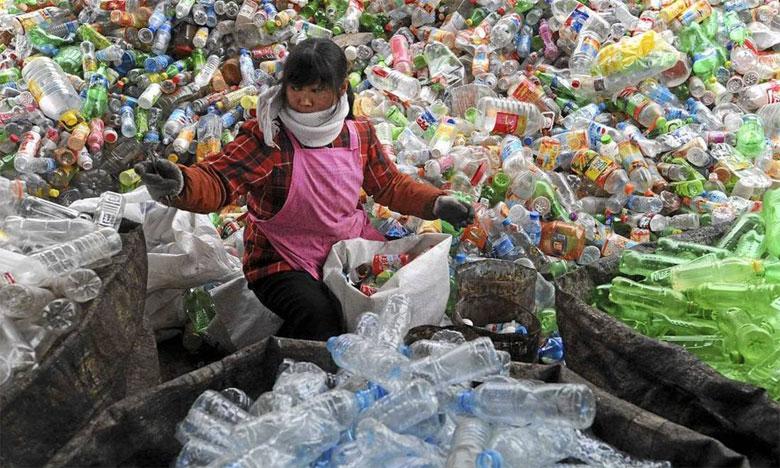 L'ONU-Environnement rapporte dans son Rapport2018 qu'à ce jour, seuls 9% des déchets plastiques jamais produits ont été recyclés et seulement 14% sont récupérés. Ph. DR