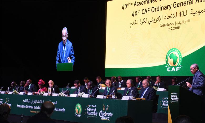 La CAF joue la carte de la transparence en publiant le calendrier complet. Ph. Archives