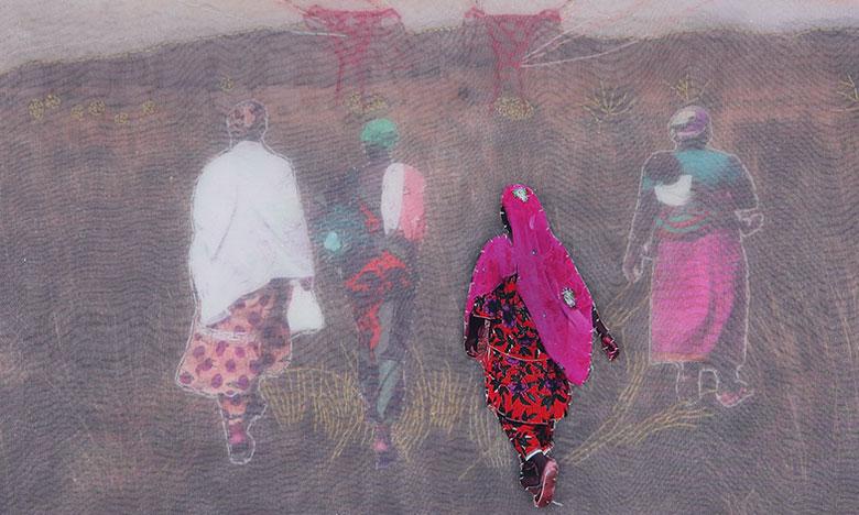 «3134.» de Joana Choumali  à Casablanca