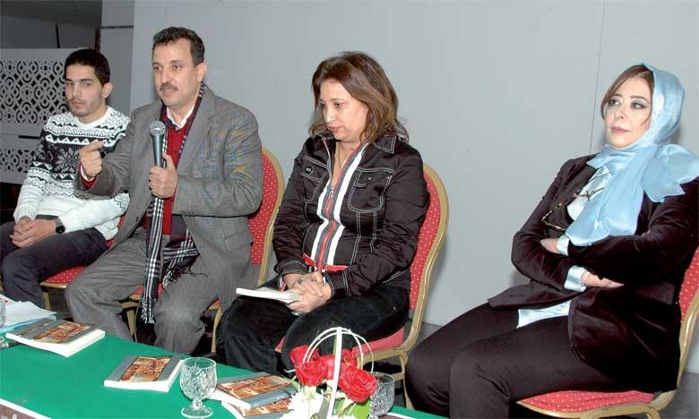 La rencontre de jeudi dernier a été organisée en partenariat avec le Théâtre national Mohammed V.