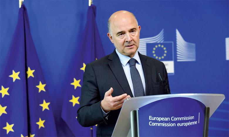Pierre Moscovici, commissaire européen aux Affaires économiques et financières, fiscalité et douanes.