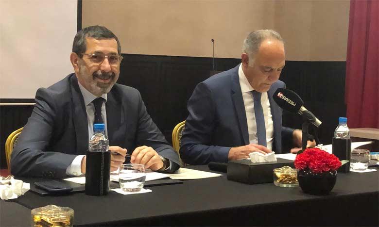 Fayçal Mekouar et Salaheddine Mezouar.