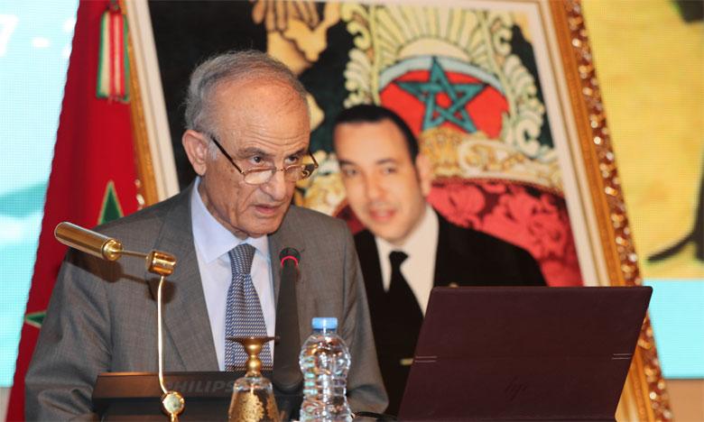 Le secrétaire perpétuel de l'Académie Hassan II des sciences et techniques, Omar Fassi Fihri.
