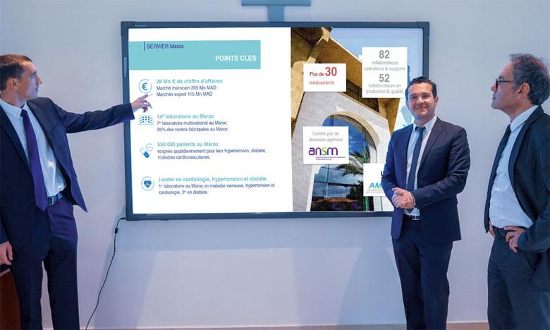 D'autres filiales de Servier sont déjà passées à la sérialisation, notamment en France, en Pologne, en Espagne, en Russie, en Égypte et en Chine.