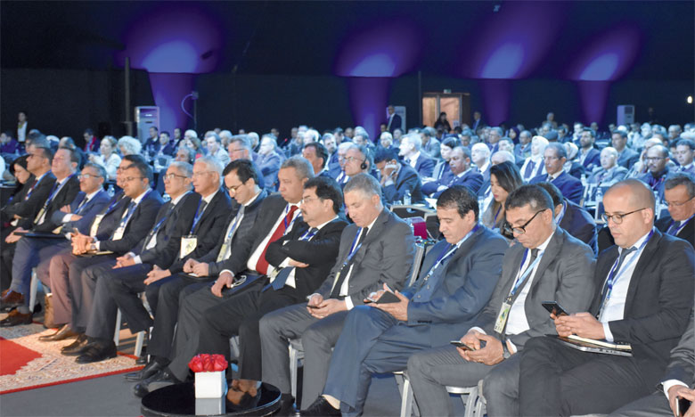 Cet événement, qui se tient pour la 3e fois au Maroc, est marqué par un échange intense de données  et d'idées sur le marché sucrier, essentiellement dans la région MENA.  Ph. Seddik