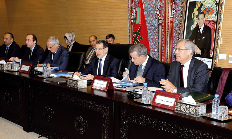 Deuxième réunion de la commission nationale anticorruption.