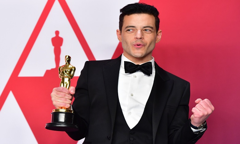 Rami Malek roi des Oscars en leader de Queen. Ph. AFP